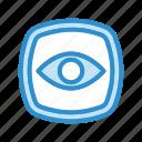 eye, vision, read mode, view icon