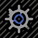 gear, interface, setting, settings, ui icon