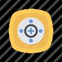 ac, controller, remote, tv icon