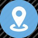 coordinates, location, map, pin icon icon