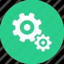 construction, gear, repair, wheel icon icon