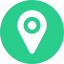 gps, location, map, pin icon icon