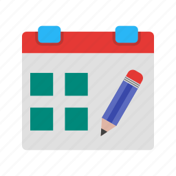 annual, appointment, calendar, deadline, event, organizer, reminder icon