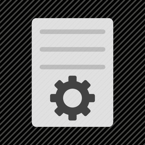 check, control, document, list, program, settings, setup icon