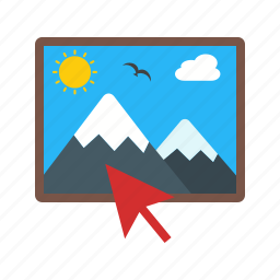change, image, picture, reload, select, technology icon