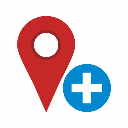 add, location, map, marker, sign, travel, web icon