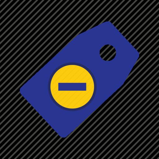 delete, fixed, label, mark, nodiscount, sticker, tag icon
