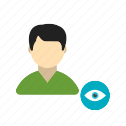 image, male, picture, profile, social, view, web icon