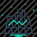 chart, data, graph, graphics, infographic icon