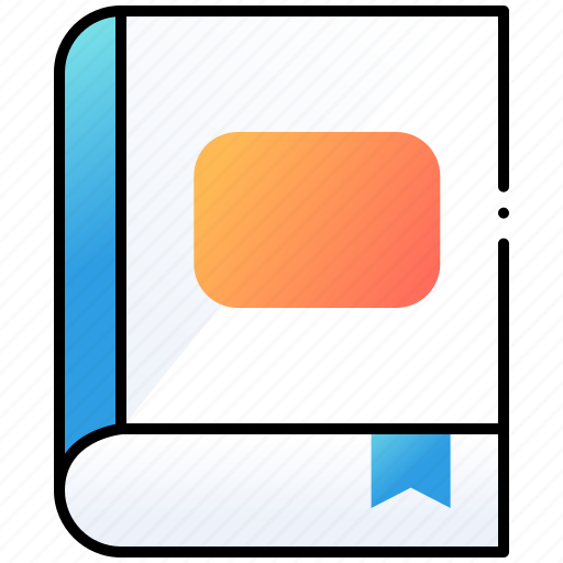 book, learn, phonebook, ui, user interface icon