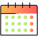 calendar, schedule, time, ui, user interface icon
