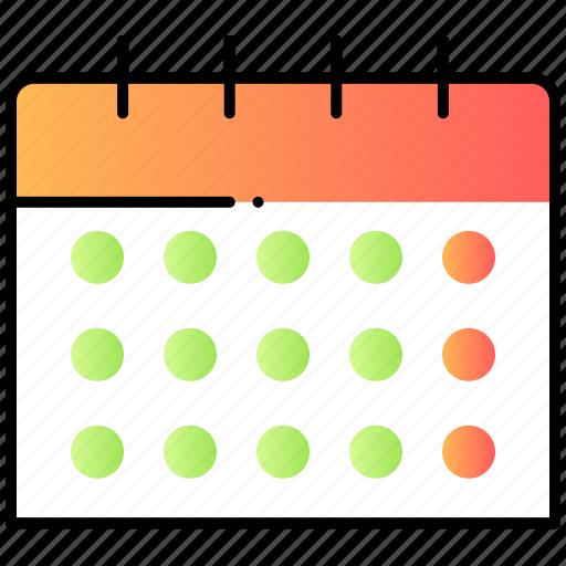 calendar, schedule, time, ui, user interface icon