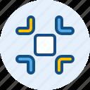 exit, fullscreen, interface, navigation, user