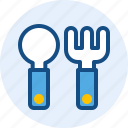 and, fork, interface, navigation, spoon, user