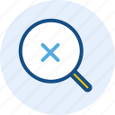 cross, interface, navigation, search, user icon