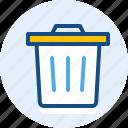 interface, navigation, trash, user