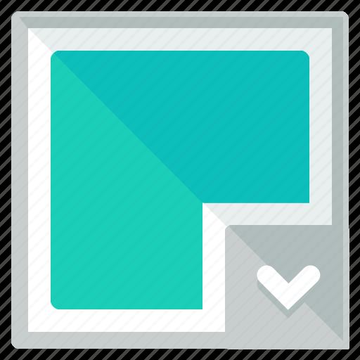 colour, design, dropdown icon