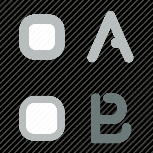 boxes, design, interface, selection, ui, user icon