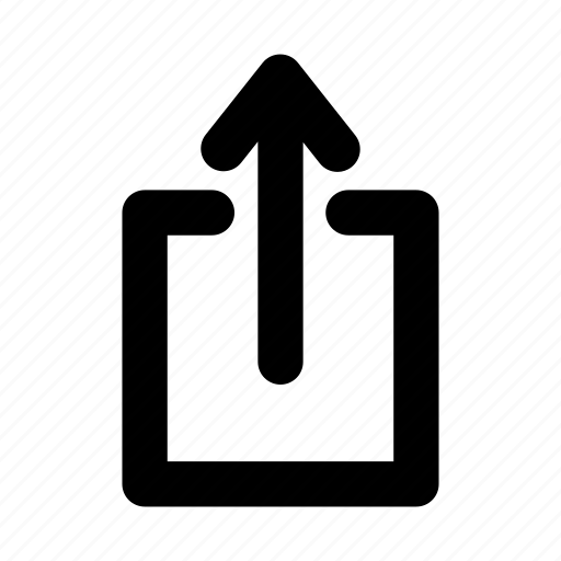 export, upload, user interface icon