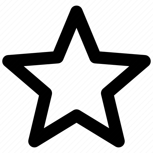 bookmark, favorite, like, rating, star, user interface icon