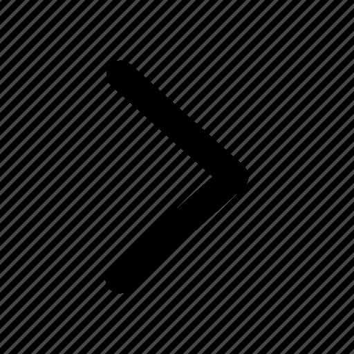 arrow, forward, next, user interface icon