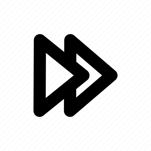 forward, music, next, skip, user interface icon