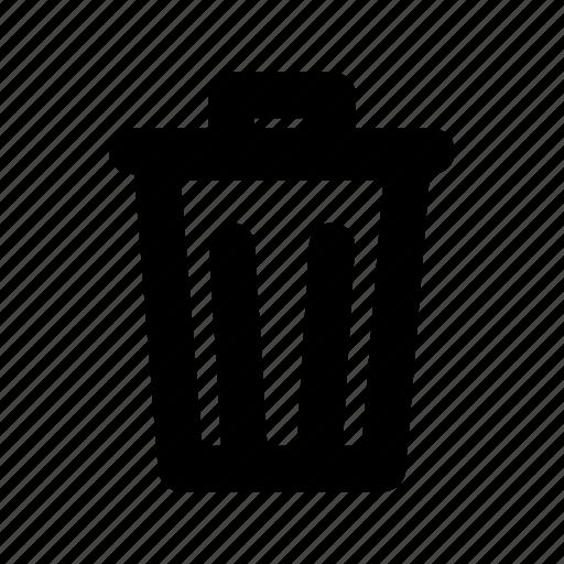 cancel, delete, remove, trash, user interface, waste icon
