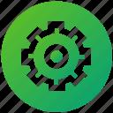 cogwheel, configuration, gear, setting, setup, ui, ux