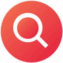 find, magnifier, magnify glass, search, ui, ux, zoom icon