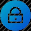 close, locked, ux, security, padlock, lock, ui