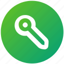 key, password, security, ui, ux icon