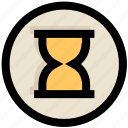 hourglass, loading, sand, timer, ui, ux, waiting