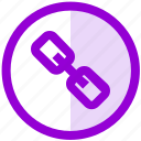 chain, connect, hyperlink, link, ui, ux icon