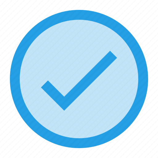 check, interface, pure, round, tick, verify, write icon
