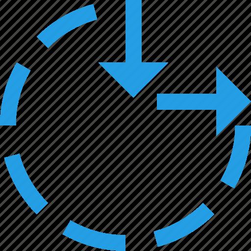 circle, clock, maximum, minimum, resize, tool, ui icon
