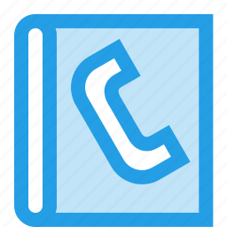 call, contact, diary, list, phone, phonebook icon