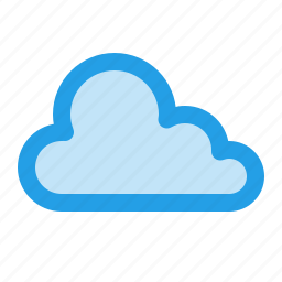 cloud, interface, online, outline, storage, stroke, ui icon
