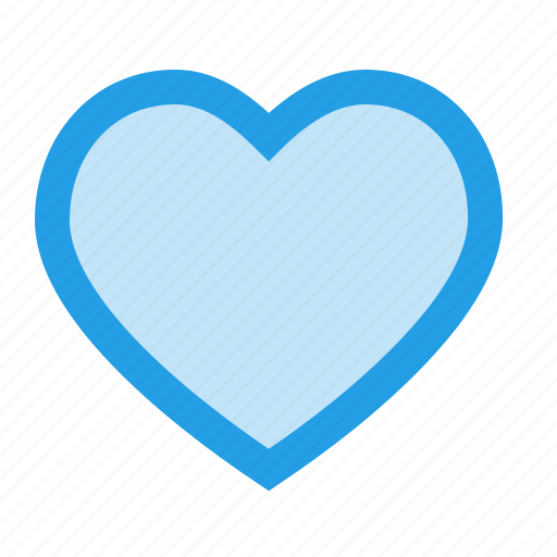 favorite, favourite, heart, interface, like, love, outline icon