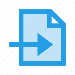doc, document, file, import, interface, ui icon