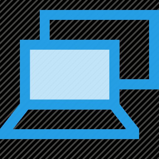 interface, lappy, laptop, screen, square, ui, windows icon