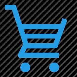 bucket, interface, shopcart, shopping, tray, wheel icon
