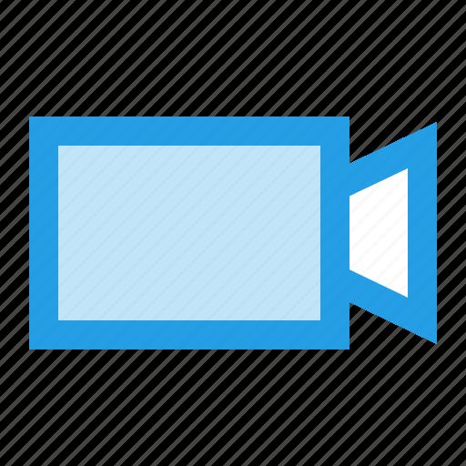 record, recording, rectangle, shape, triangle, ui, video icon