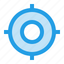 circle, fix, interface, mission, shoot, target, ui icon