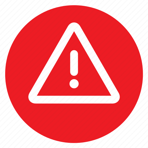 attention, circle, circular, danger, exclamation mark, round, web icon