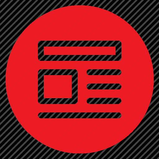 circle, circular, document, pdf, round, user interface, web icon
