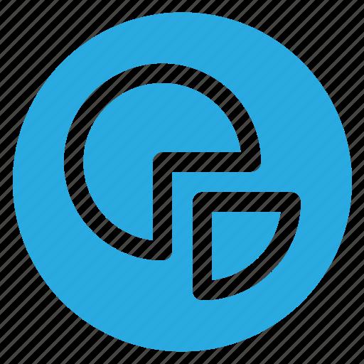 chart, circle, circular, graph, pie, round, web icon