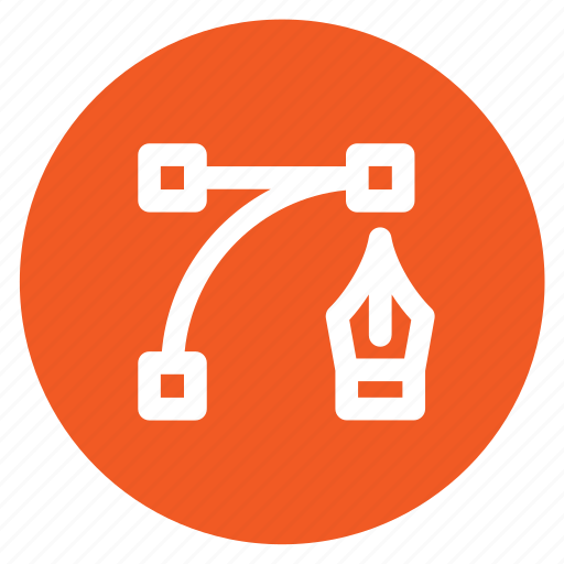 circle, circular, edit, graphic design, illustrator, round, web icon