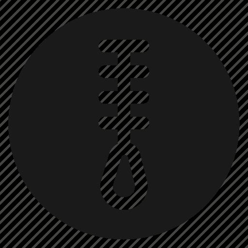 circle, circular, fastener, round, web, zip, zipper icon