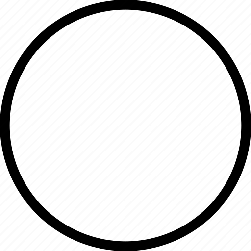 Circle, geometry, round, shape icon - Download on Iconfinder