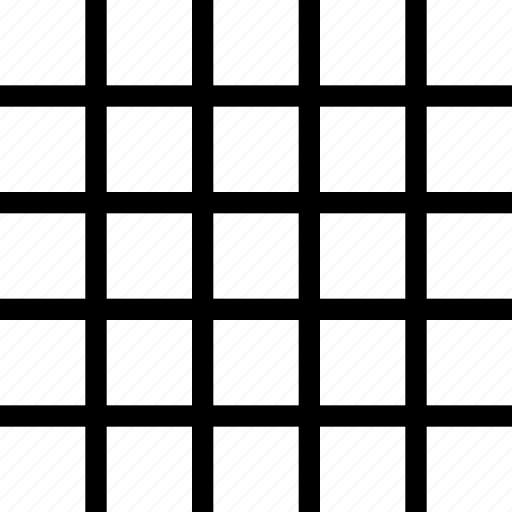 checkers, grids, squares icon